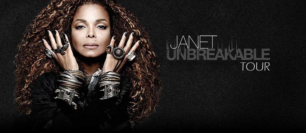 Janet Jackson Unbreakable Tour Pnc Bank Arts Center